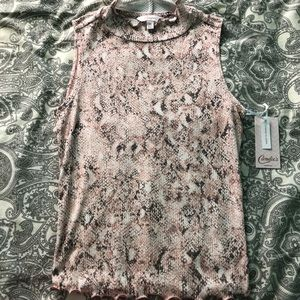 Candies pink reptile top
